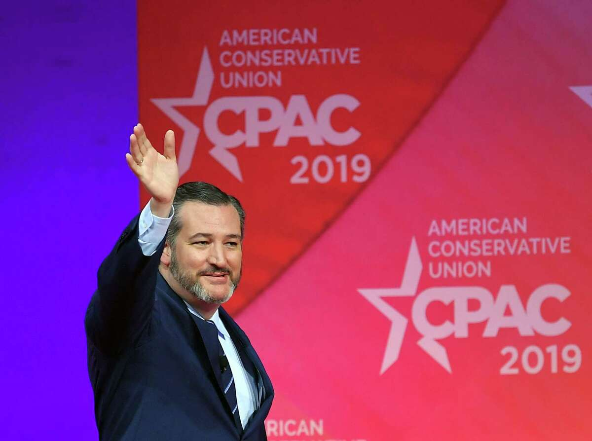 US Senator Ted Cruz, Republican of Texas, arrives to speak at the annual Conservative Political Action Conference (CPAC) in National Harbor, Maryland, on March 1, 2019. (Photo by MANDEL NGAN / AFP)MANDEL NGAN/AFP/Getty Images