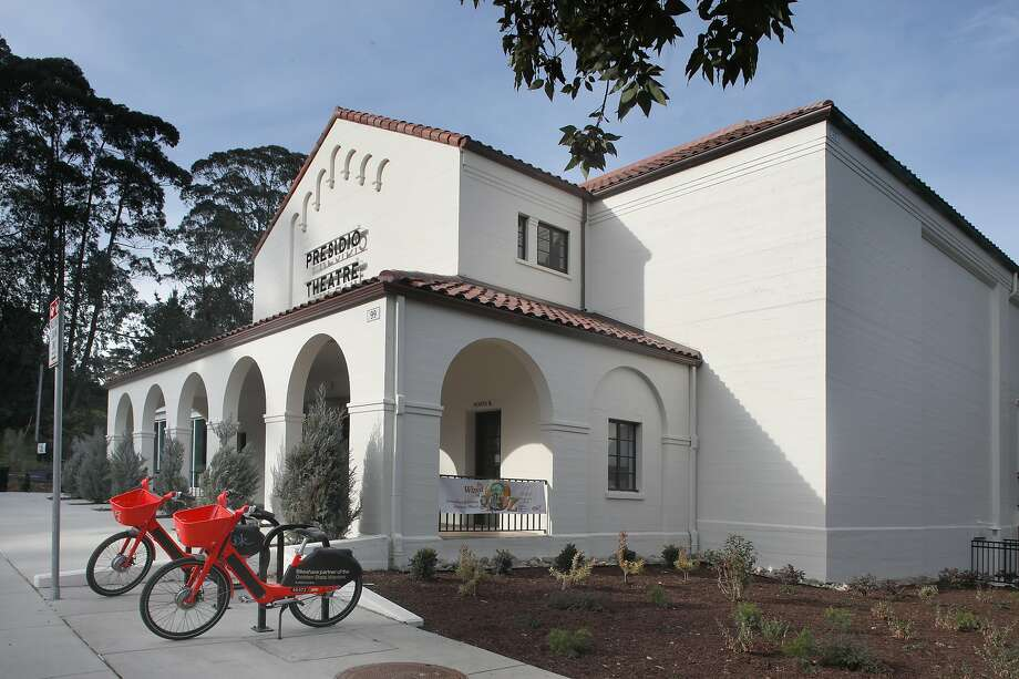 Presidio Theater in the Presidio, 99 Moraga Ave. seen on Thursday, Feb. 20, 2020, in San Francisco, Calif. Photo: Liz Hafalia / The Chronicle