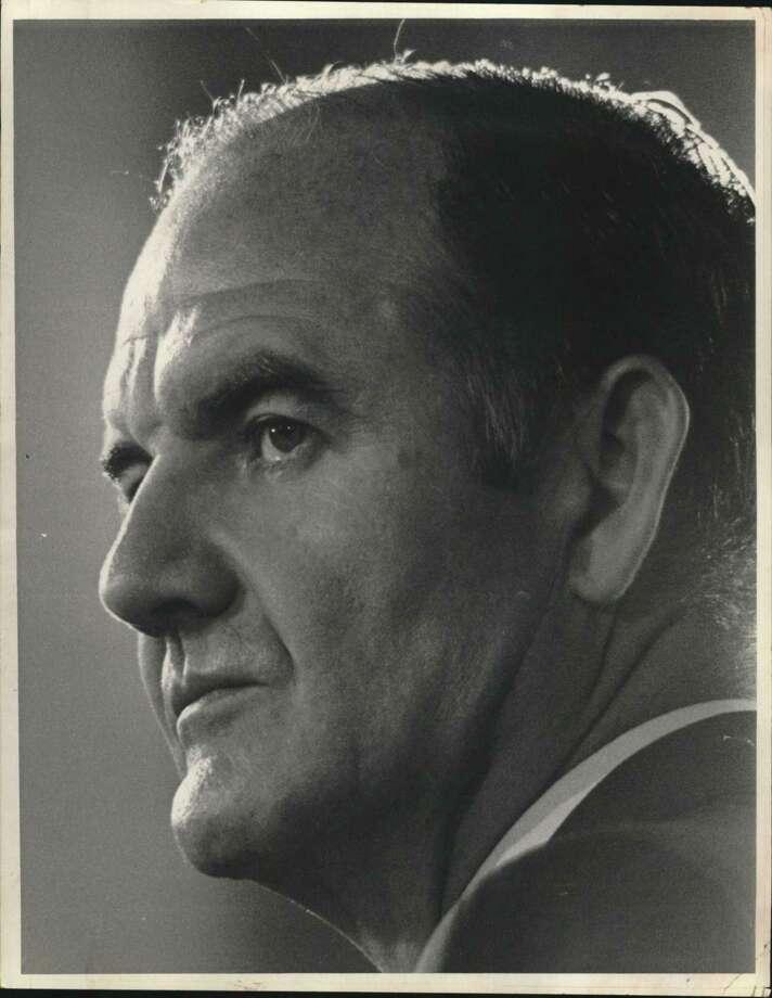 Sen. George S. McGovern of South Dakota Photo: / / Houston Chronicle