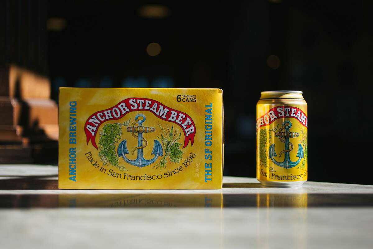 For the first time in its 123 years of existence, Anchor Brewing is releasing its flagship beer, Anchor Steam, in a 12-ounce can.