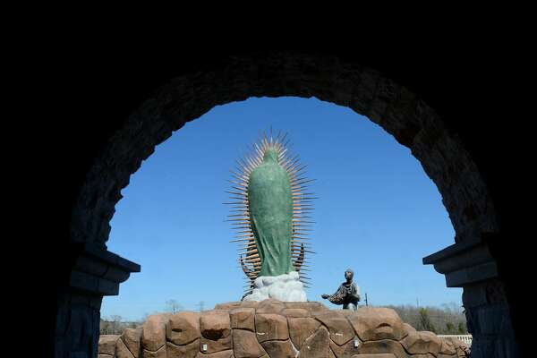 The shrine at Our Lady of Guadalupe Catholic Church in Port Arthur is pictured. The church will be the starting point for the annual Lenten pilgrimage that begins Friday. Photo taken Tuesday, February 25, 2020 Kim Brent/The Enterprise