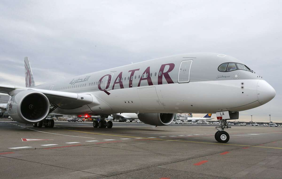Qatar Airways will use a new Airbus A350 on the 17-hour flight between San Francisco and Doha, Qatar.
