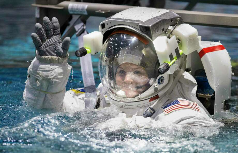 Ever dreamed of becoming an astronaut like Anne McClain? NASA's taking applications.>>>See other dream jobs that pay well. Photo: Yi-Chin Lee, Houston Chronicle / Staff Photographer / © 2020 Houston Chronicle