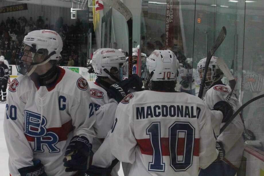 Big Rapids' hockey team plays Cadillac at home in regional action tonight. (Pioneer photo/John Raffel)