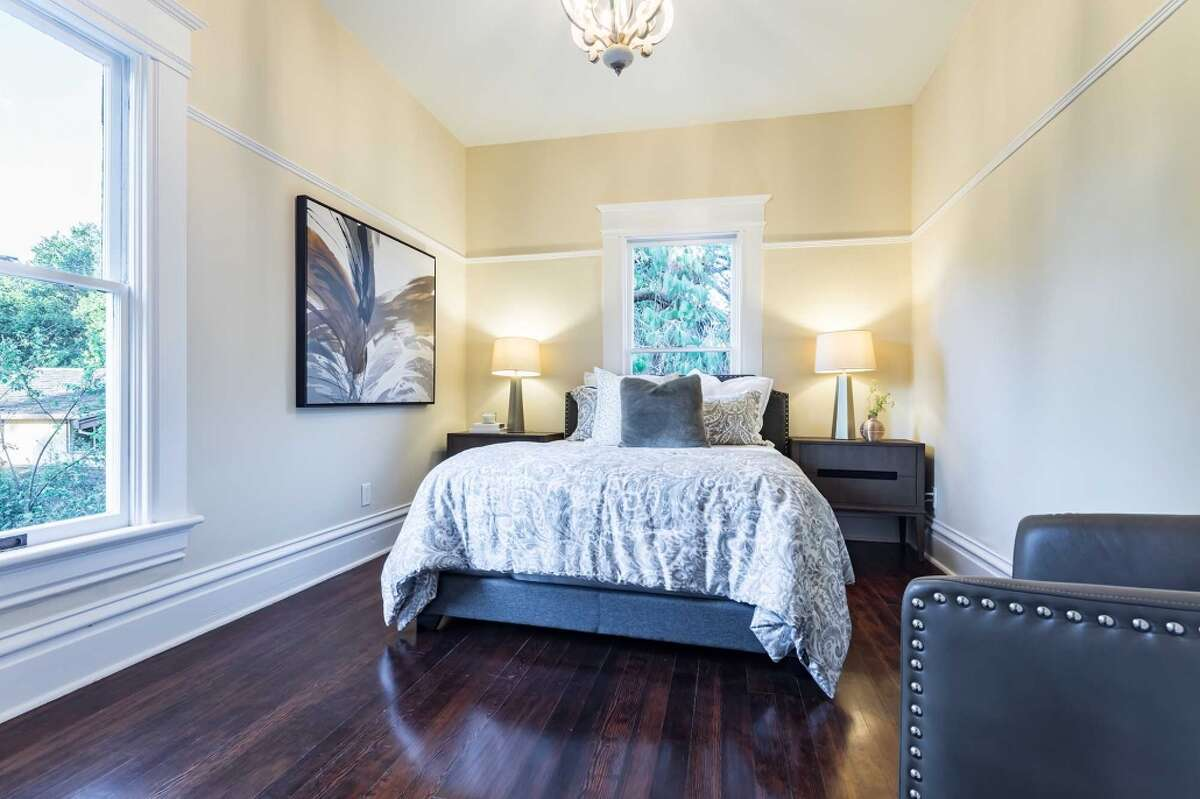 A fine example of Queen Anne architecture, complete with turrets, towers, turned woodwork, and decorative carving has come back onto the market in Palo Alto for $5.5 million.