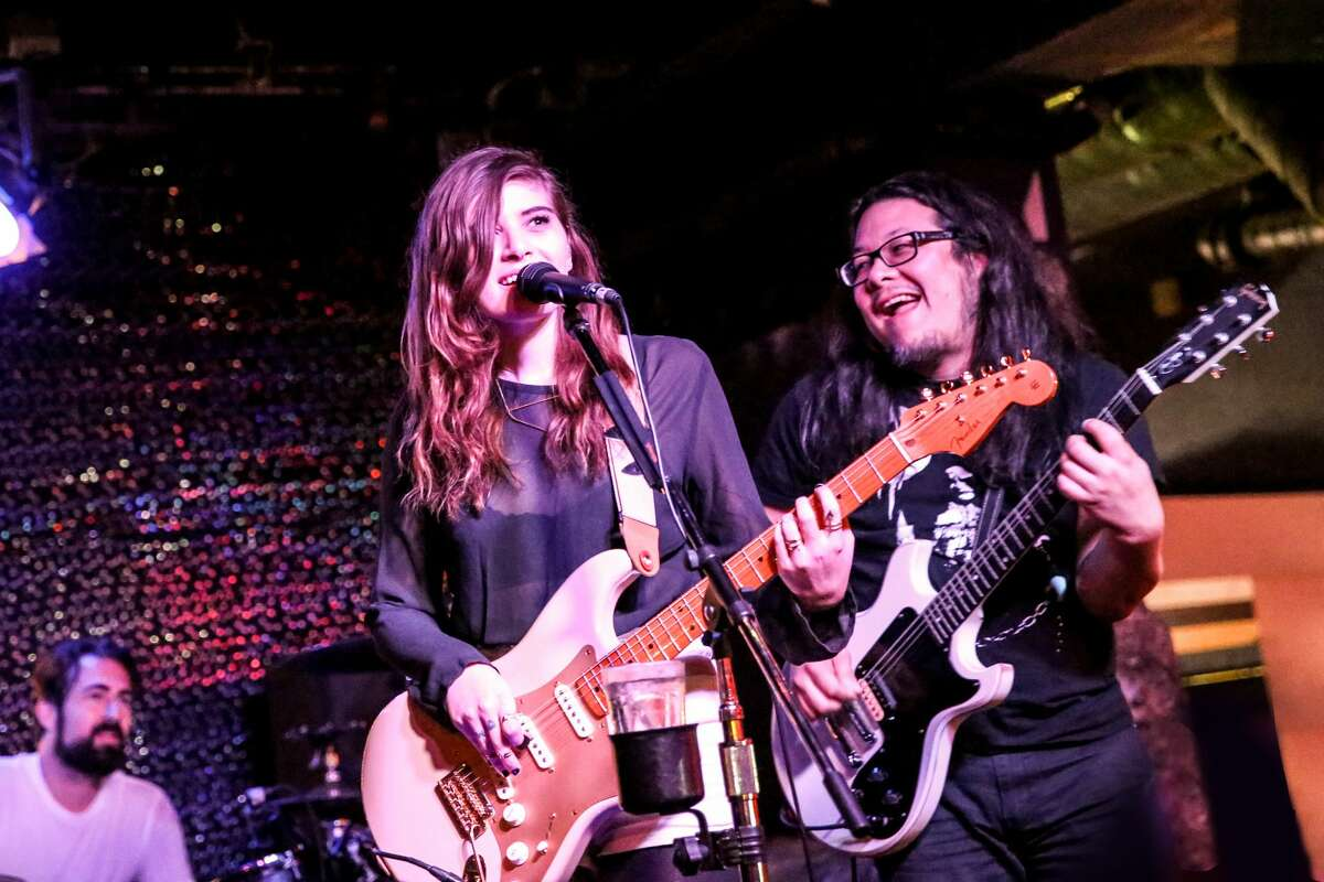 Los Angeles indie pop duo Best Coast plays at Bottom of the Hill. Bottom of the Hill first made a name for itself in the 1990s, booking now-famous indie bands such as the White Stripes and Arcade Fire before they got big. Today, the SF venue is adapting to the changing landscape of its neighborhood, Potrero Hill.