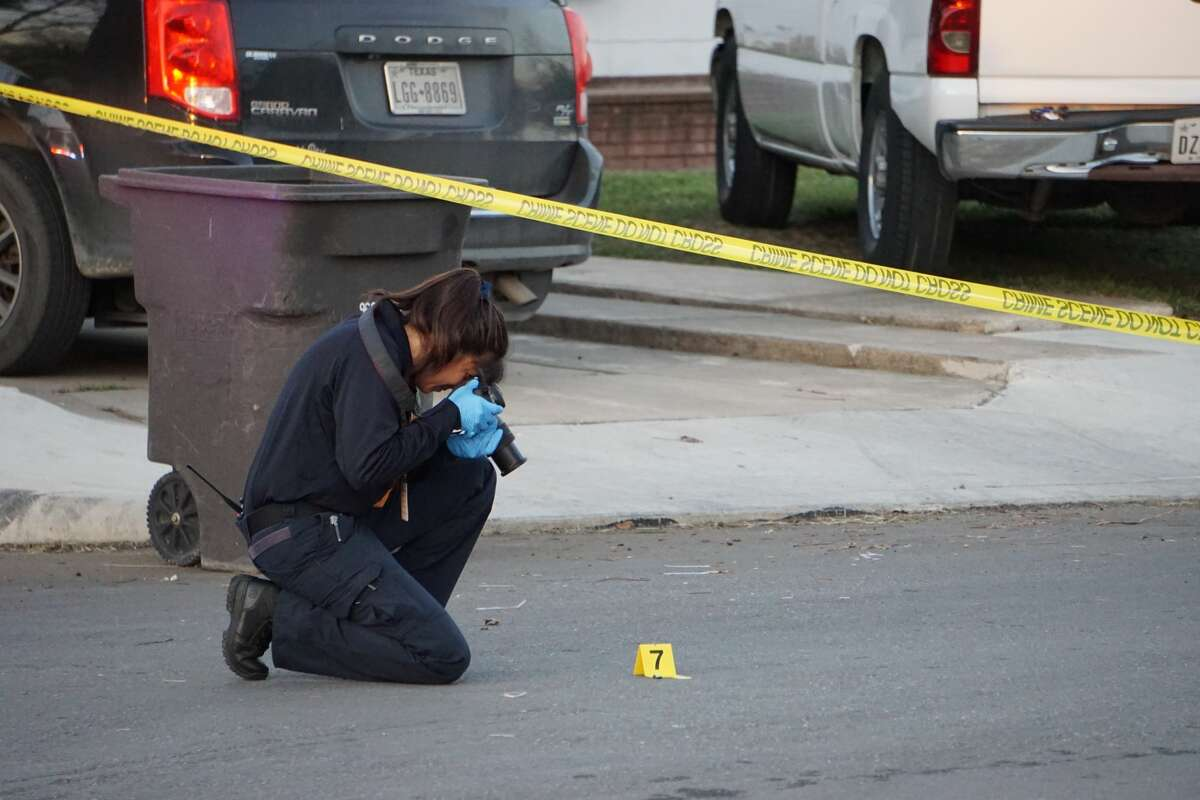An 8-year-old boy was struck in a drive-by shooting about 5:30 p.m. Tuesday Feb. 25, 2020.