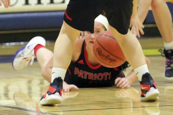 The USA girls basketball team squeaked by Bad Axe, 40-38, on Tuesday night.