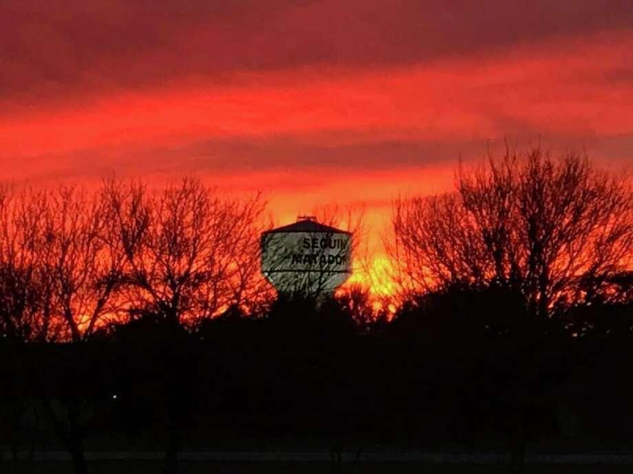 Views of the sunset Monday, Feb. 24, 2020. Photo: Mary Shahan