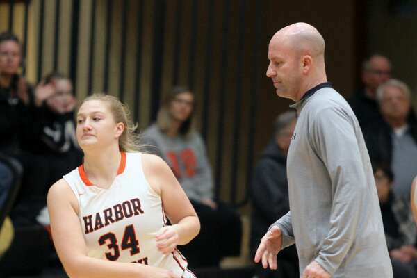 The Harbor Beach girls basketball team recorded a 68-17 win over Memphis at home on Tuesday, Feb. 25.