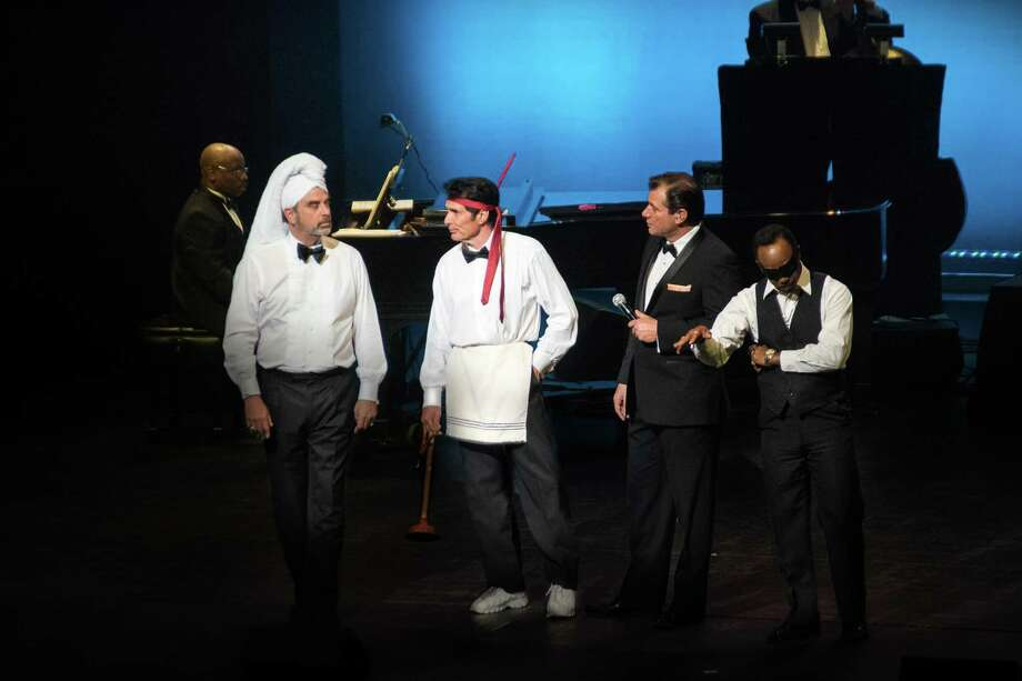Sandy Hackett brings his legendary Rat Pack show to Waterbury's storied Palace Theater on March 6. Photo: Sandy Hackett / Contributed Photo
