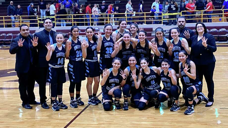 United South beat Edinburg 56-42 Tuesday in Zapata to advance to the Sweet 16. Photo: Courtesy Of United South Athletics