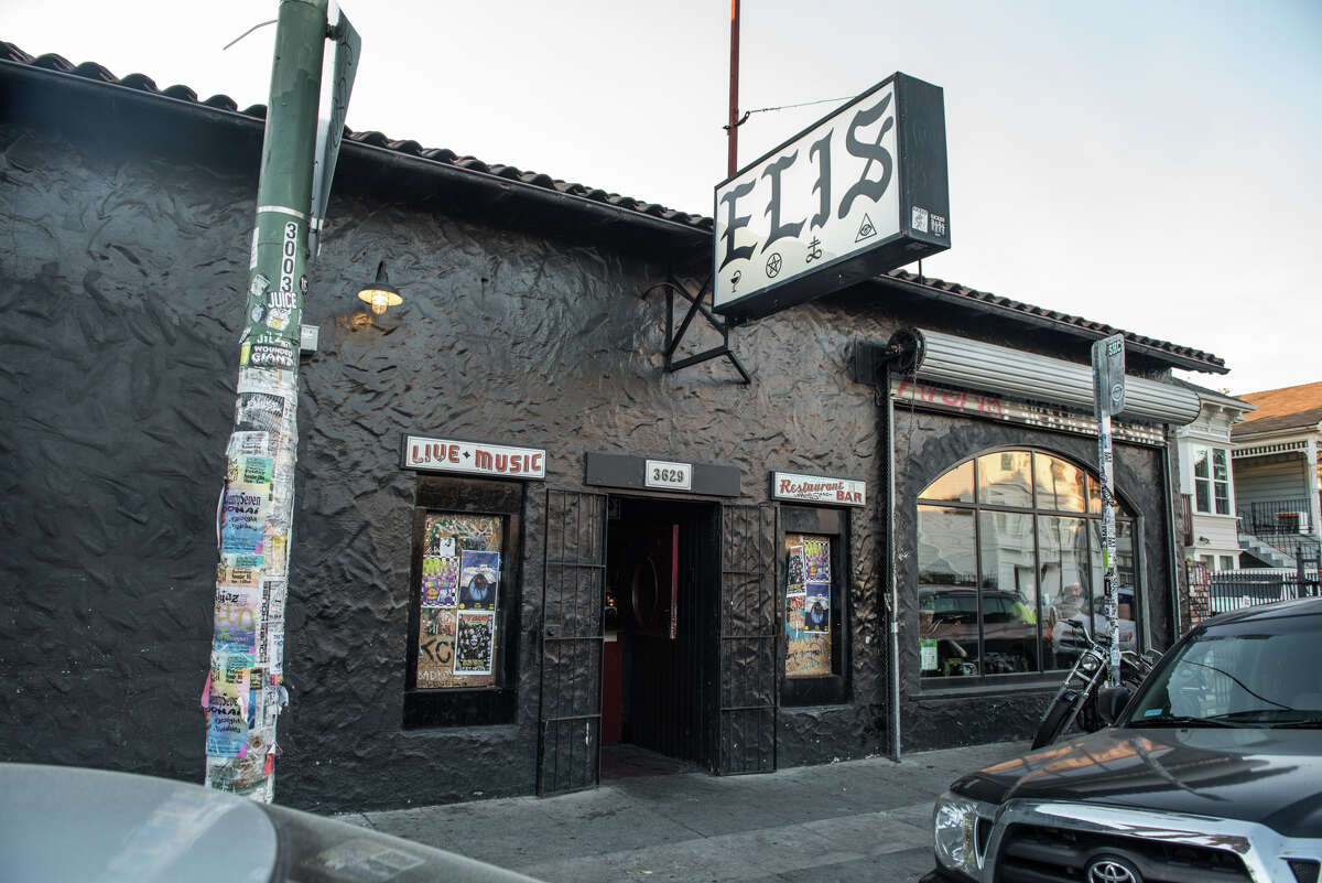 FILE - Eli's Mile High Club in Oakland is requiring patrons to bring vaccine cards and sign up for contact tracing before being allowed inside its venue. The reception of the new policy has been mixed, to say the least.