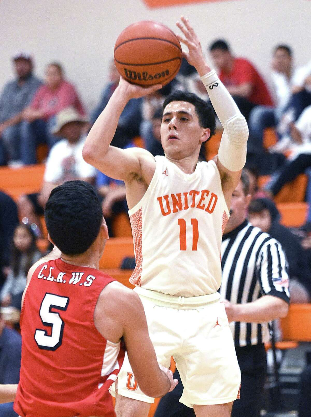 Alex Idrogo helped United win back-to-back District 29-6A titles this past season.