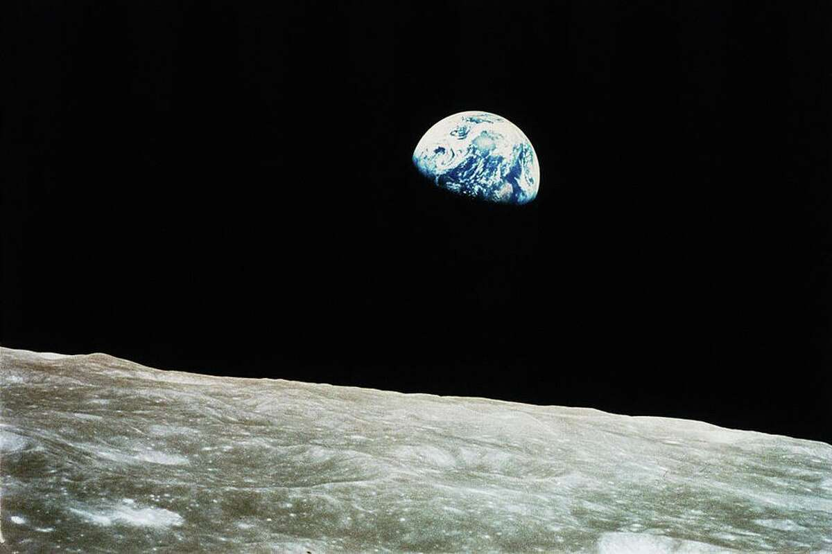 Earth, as seen from the Moon in 1968, could have pulled a new mini-moon into its gravity.