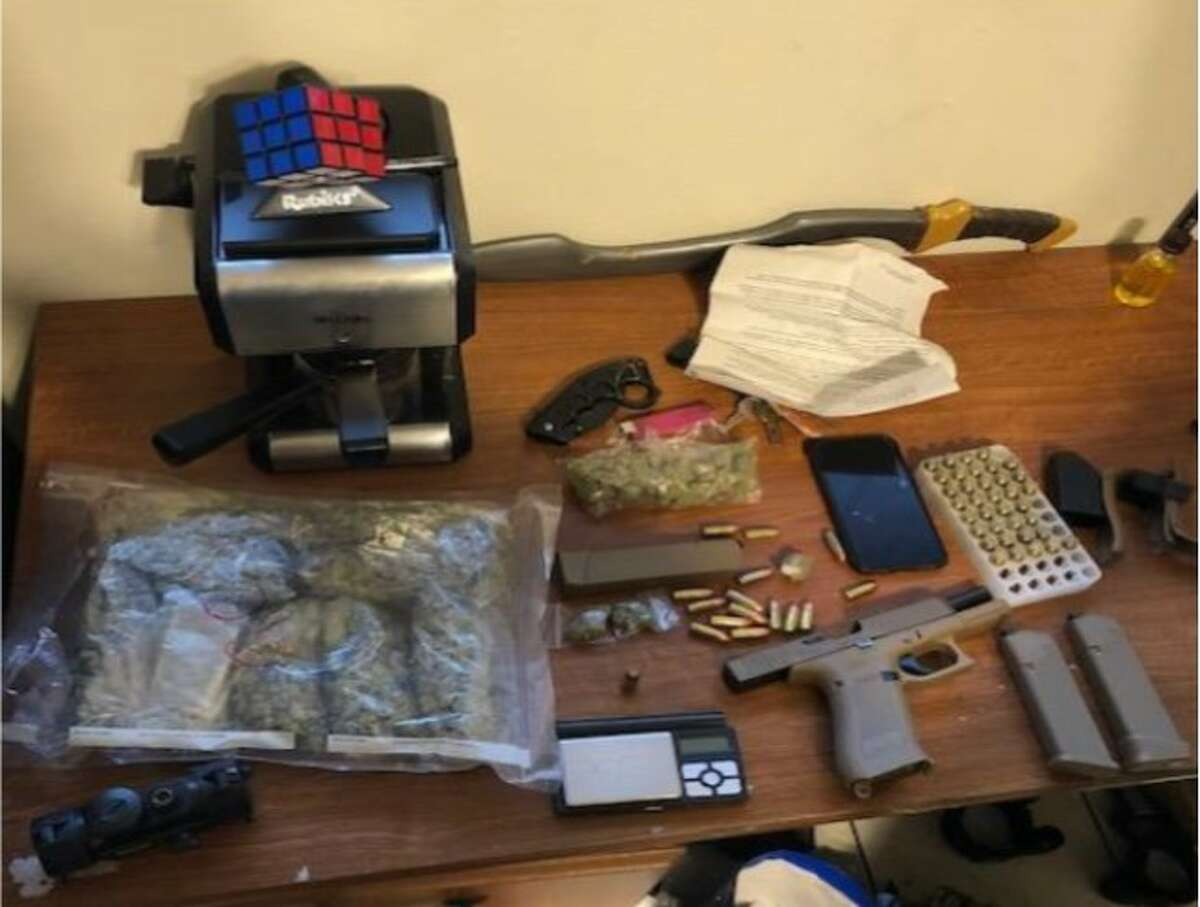 Laredo police seized the items shown in these photos following the execution of search warrants in the 5700 block of Post Oak Drive
