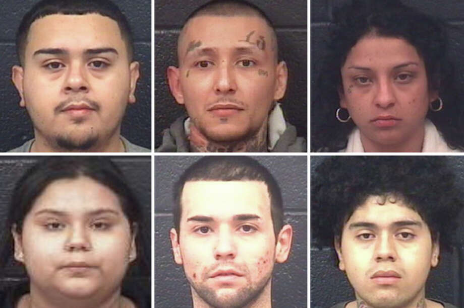 Authorities have arrested six suspected street-level dealers in connection with several raids carried out throughout central and south Laredo. Photo: Courtesy