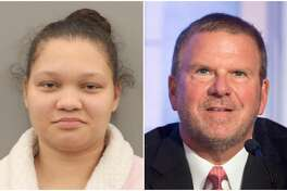 Stephanie Hunter, 27, told investigators that she purchased Tilman Fertitta's sensitive information on the dark web and applied for a credit card and line of credit with a popular furniture store, according to charging documents