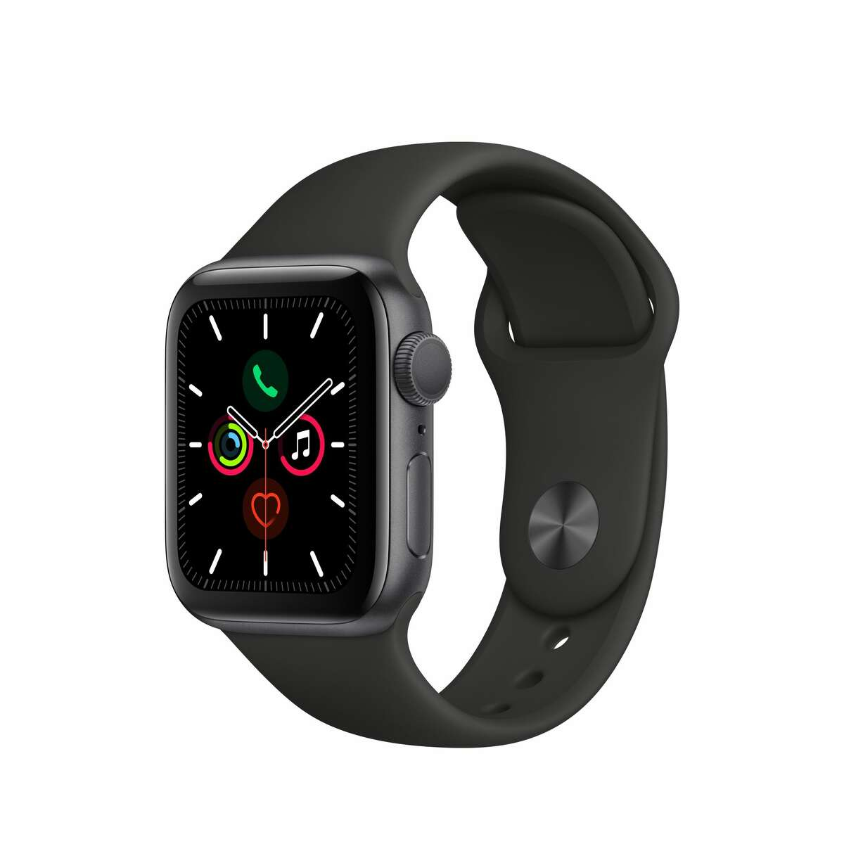 Apple Watch Series 5 GPS, 44mm Silver Aluminum Case with White Sport Band - S/M & M/L for $429.00 at Walmart Apple Watch Series 5 GPS, 40mm Space Gray Aluminum Case with Black Sport Band - S/M & M/L for $399.00 at Walmart