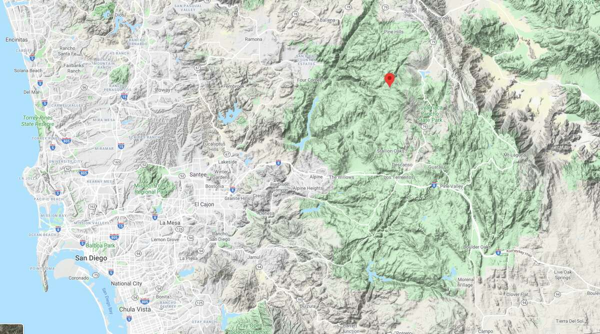 A 106 mph wind gust was recorded on Sill Hill in the mountains of San Diego County on Feb. 26, 2020, at 1:50 a.m.