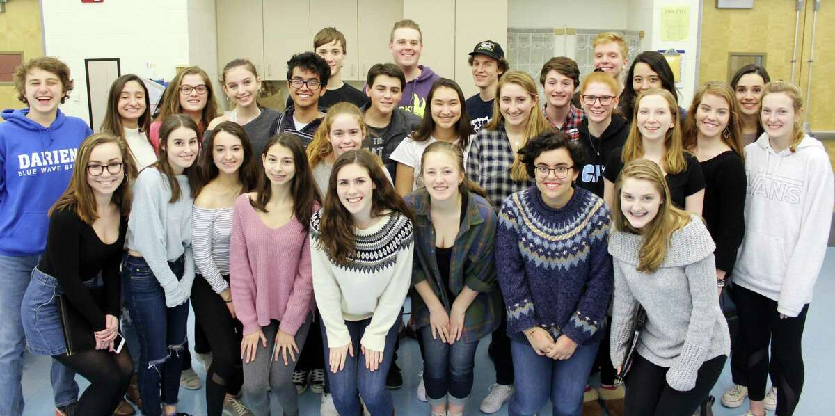 The Darien High School Tudor Singers directed by Christopher Andrade performed in a cultural exchange concert with students from China on Feb. 5, 2018 at the Lincoln Center in New York, N.Y.
