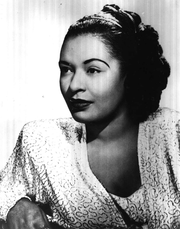 Billie Holiday, singer. Undated