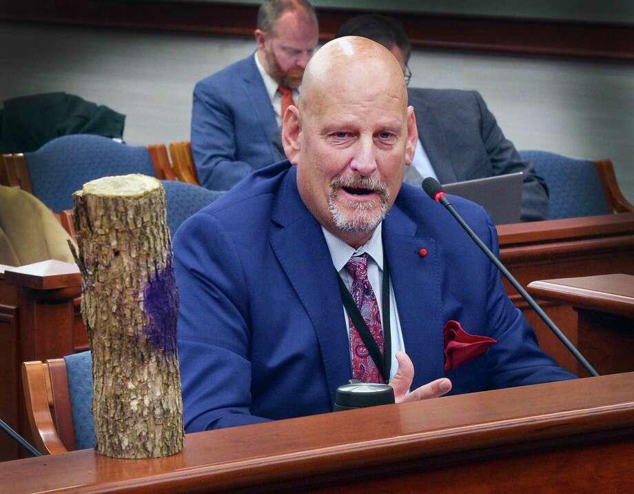 State Sen. Curt VanderWall, R-Ludington, testified before a Senate panel Wednesday on Senate Bill 789. (Courtesy photo)