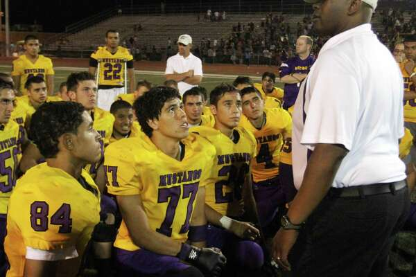 El Paso Burges football coach Marcus Graham