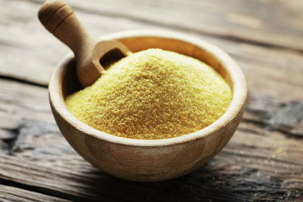 Cornmeal, the base of polenta. (Getty Images)