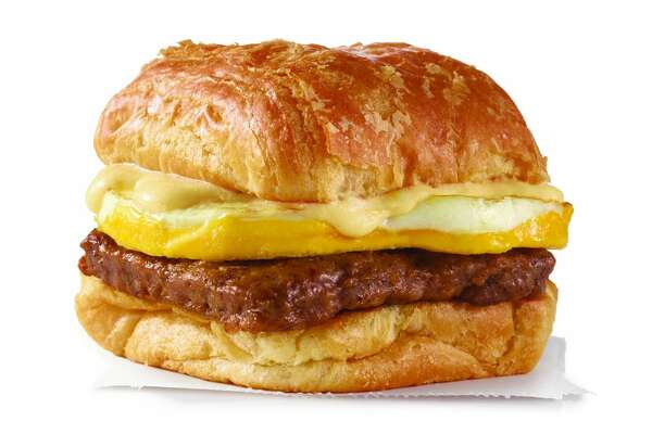 Sausage, Egg & Swiss Croissant