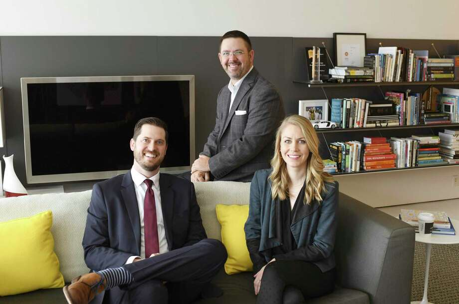 PDR has opened a regional office in Dallas. The team, from left, includes Justin Dezendorf, senior associate; Marc Bellamy, PDR partner and principal, and Jenny Segsworth, senior associate. Photo: PDR