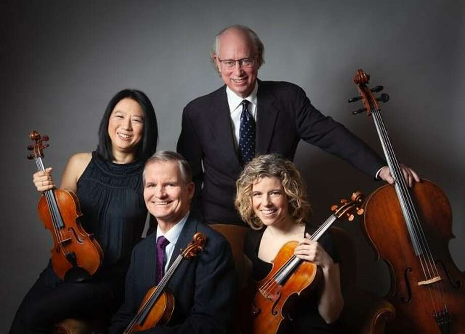 The music of Beethoven, Haydn and Mendelssohn will be performed by the Manhattan String Quartet at the St. Andrew's Music in the Nave series in Kent March 14. Photo: St. Andrew's Episcopal Church / Contributed Photo