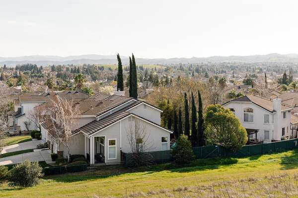 The Lone Tree Estates development in Antioch, Calif., on Feb. 17, 2020. Antioch has some of the more affordable single-family homes in the Bay Area. (Jason Henry/The New York Times)
