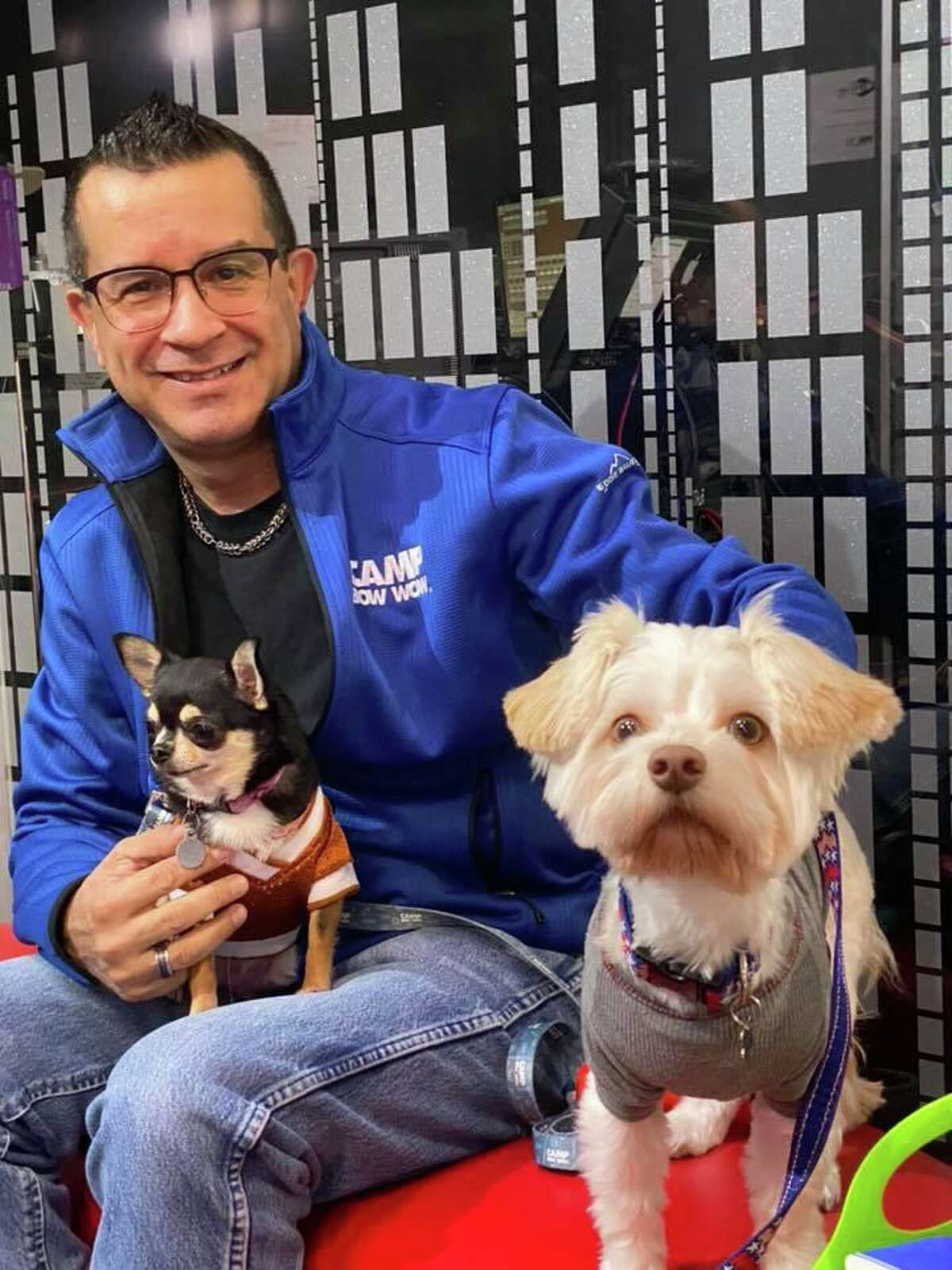 Jose Morillo will open a Camp Bow Wow location at 16641 Telge Road in Cypress in March.