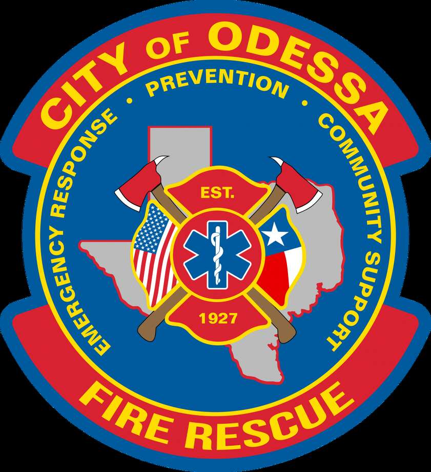 A firefighter was transported to the hospital with minor injuries Wednesday afternoon after Odessa Fire Rescue responded to a fire in the 1600 block of East 42nd Street, according to an email from a city spokeswoman. Photo: City Of Odessa