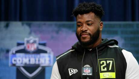 After impressing the media at the NFL combine Wednesday, UH offensive tackle Josh Jones looks to do the same with teams as he's projected to be drafted in the first round by draft analysts.