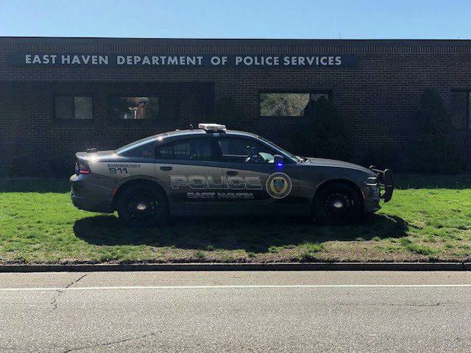 File photo of East Haven, Conn., police headquarters. Photo: Contributed Photo / East Haven Police Department