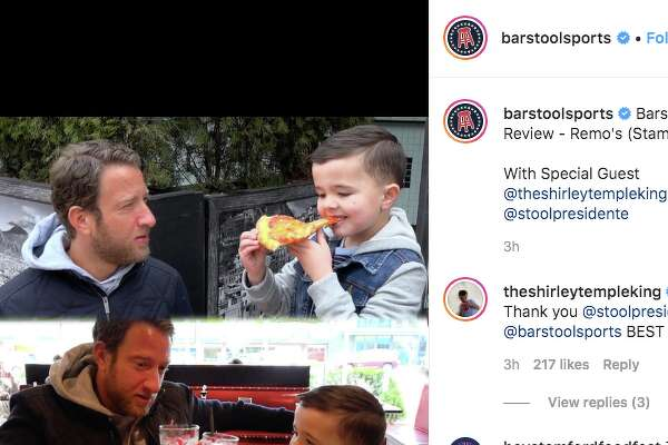 """Two culinary world collided when David """"El Presidente"""" Portnoy came to Stamford to do a Barstool pizza review with the Leo """"The Shirley Temple King"""" Kelly."""