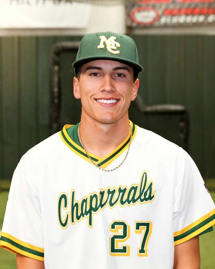 Midland College freshman outfielder Logan Acosta Photo: Midland College Athletics