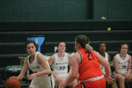 Pine River girls ended their regular season on Wednesday with a 52-22 loss to Manton.