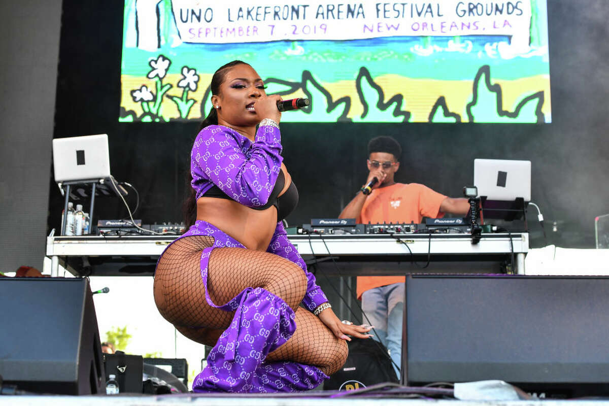 Megan Thee Stallion performs during Lil Weezyana 2019 at UNO Lakefront Arena on September 07, 2019 in New Orleans, Louisiana. (Photo by Erika Goldring/Getty Images)