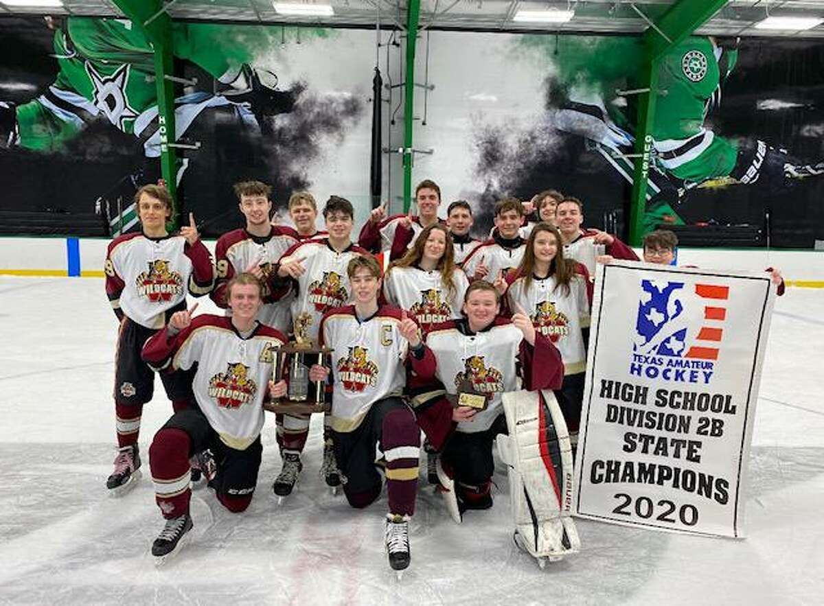 The Cy Woods hockey team won the Texas Amateur Hockey Association 2020 State High School Hockey Division 2B Championship overGrapevine Colleyvillein late January.