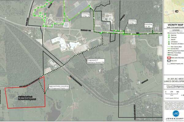 City officials say a proposed residential development in Montgomery would require annexation and shared services with multiple providers, including Dobbin.Promocon USA plans to turn the 44.2-acre undeveloped tract of land into a single-family development on the Southwest side of town within Montgomery's ETJ.