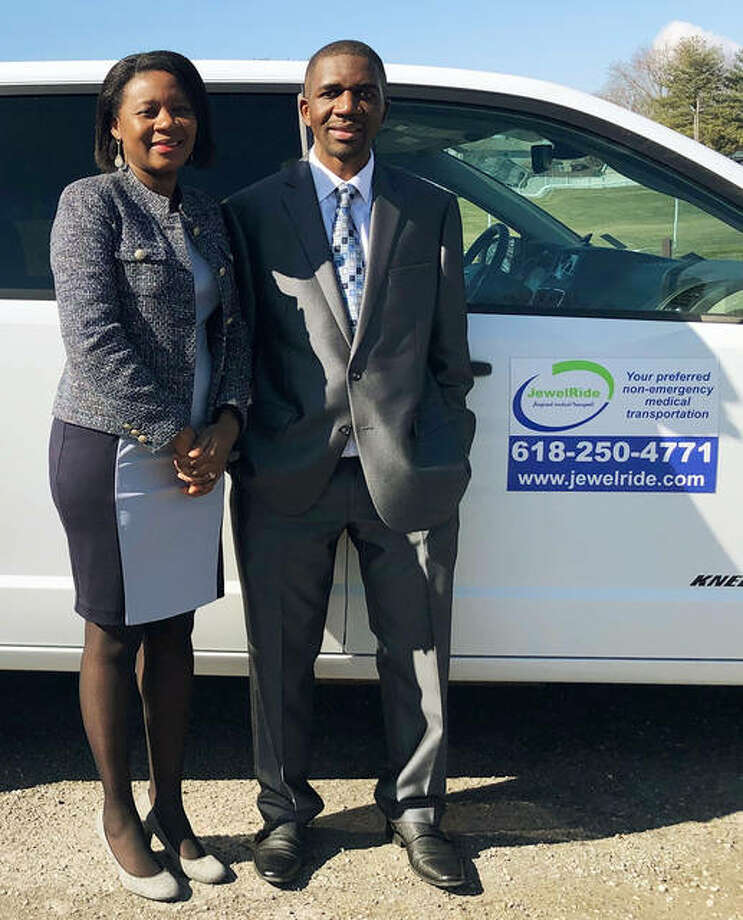 JewelRide in Edwardsville, operated by Rutendo and Tapiwa Mupereki, has received approval to help Medicaid participants in Madison, Jersey and St. Clair counties who need non-emergency medical transportation.