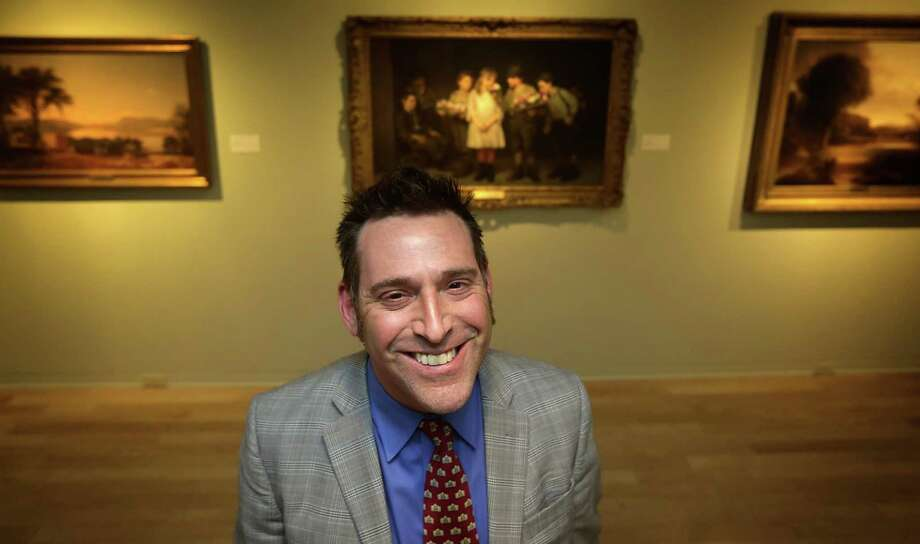 William Keyse Rudolph is the new curator of American Art and Chief Curator of Collections at the San Antonio Museum of Art. Wednesday, Jan. 8, 2013. Photo: BOB OWEN, Staff / San Antonio Express-News / © 2012 San Antonio Express-News