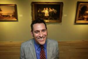 William Keyse Rudolph is the new curator of American Art and Chief Curator of Collections at the San Antonio Museum of Art. Wednesday, Jan. 8, 2013.