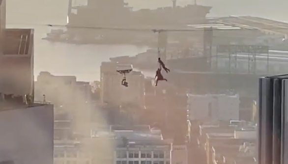 'Matrix 4': Shoots this week include insane building jumps, accidentally melted SF street lamps