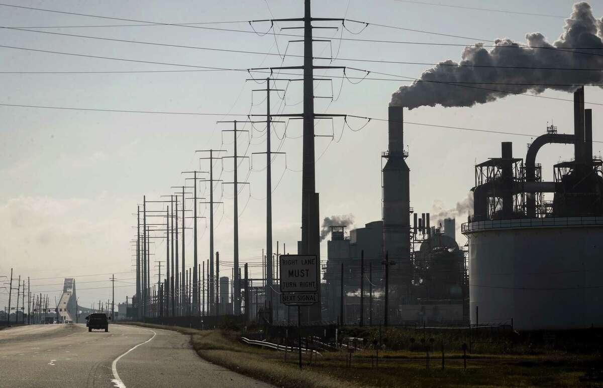 The Valero refinery in Port Arthur.