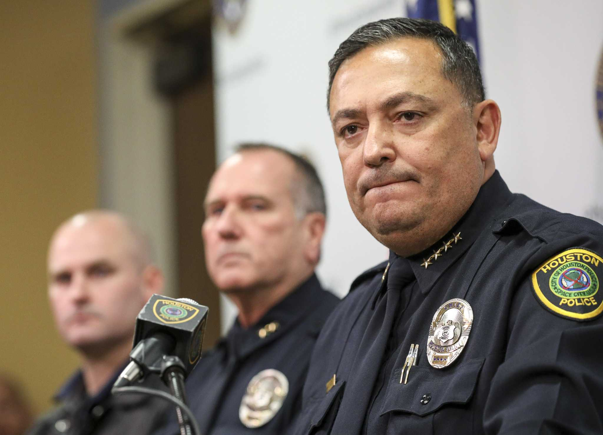 After 69 cases possibly tainted by Goines, HPD chief finally announces sweeping changes