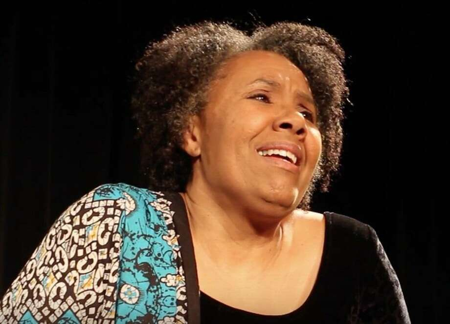 """""""A Journey,"""" a one-woman musical in honor of Black History Month, will be at the Norwalk Historical Society's Mill Hill Historic Park Townhouse Feb. 29. Pictured is Kimberly Wilson as Maya Angelou. Photo: Gregg Cork / Contributed Photo"""
